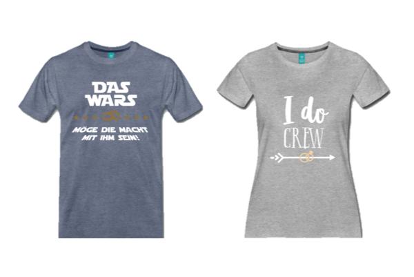 JGA Shirts für den Junggesellenabschied Düsseldorf